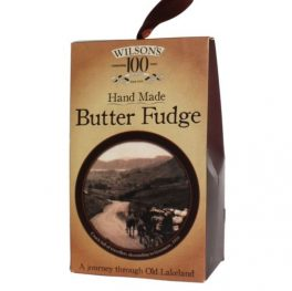 Handmade butter fudge