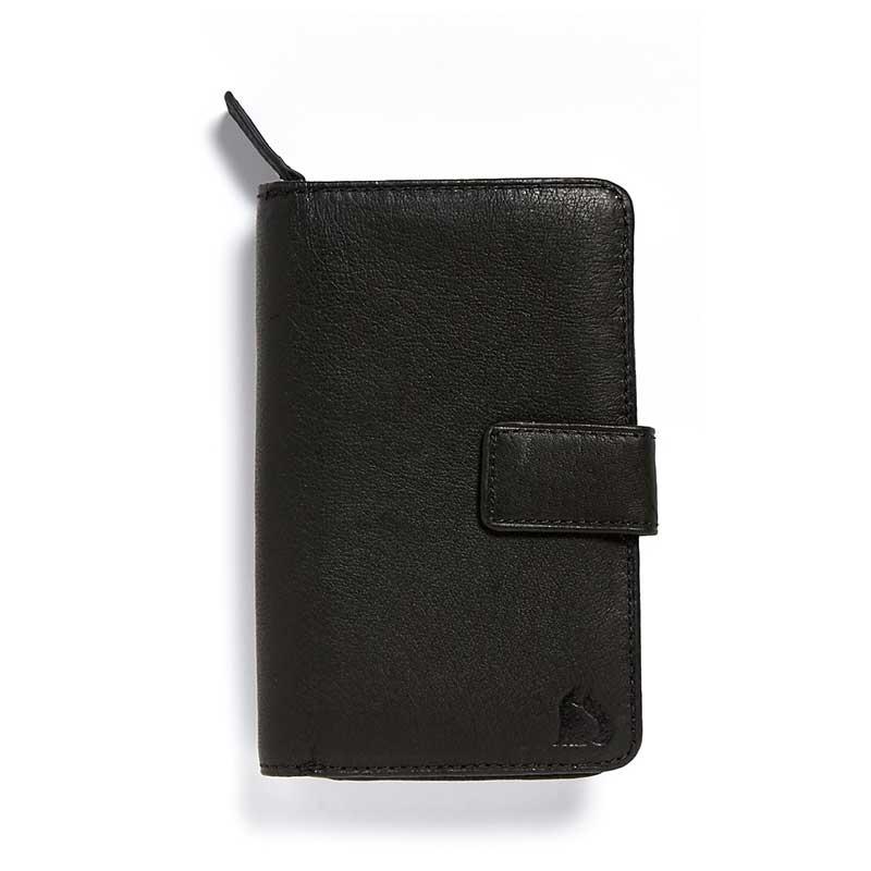 Coniston Foxfield Black Leather Purse
