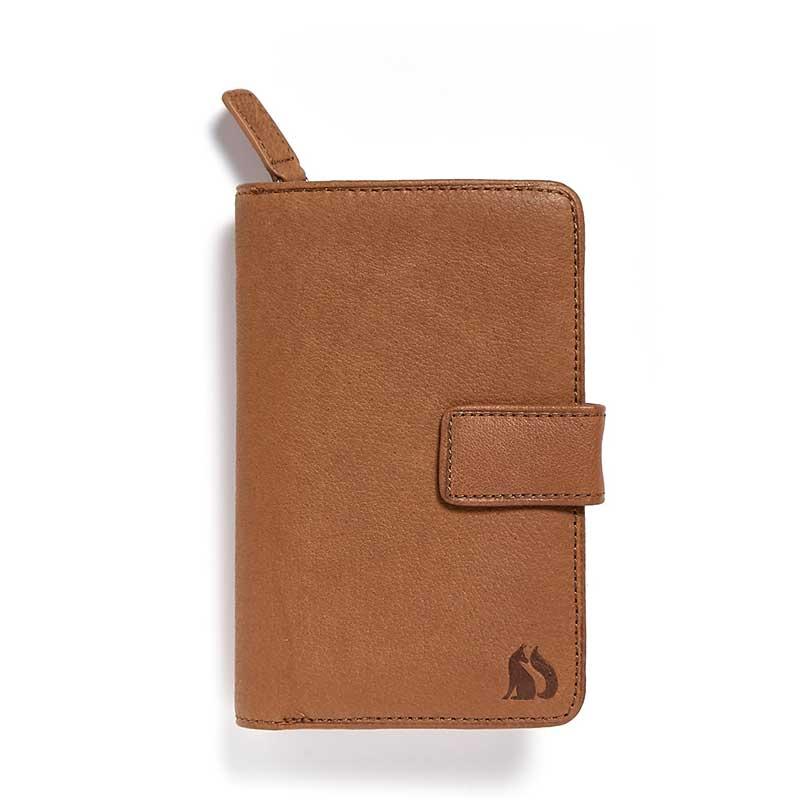 Coniston Foxfield Tan Leather Purse