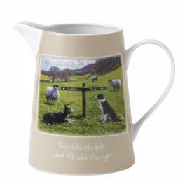 Ewe take the left jug