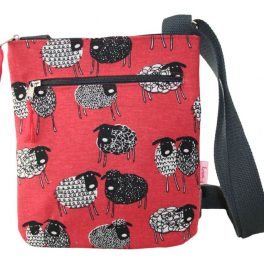 Small sheep pattern messenger bag