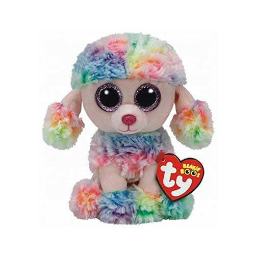 TY Beanie Boo Plush - Rainbow the Poodle