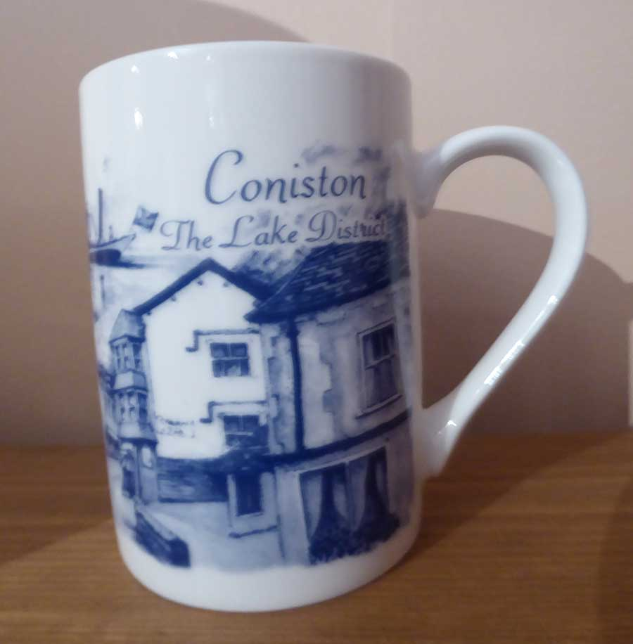 Coniston Lake District Mug