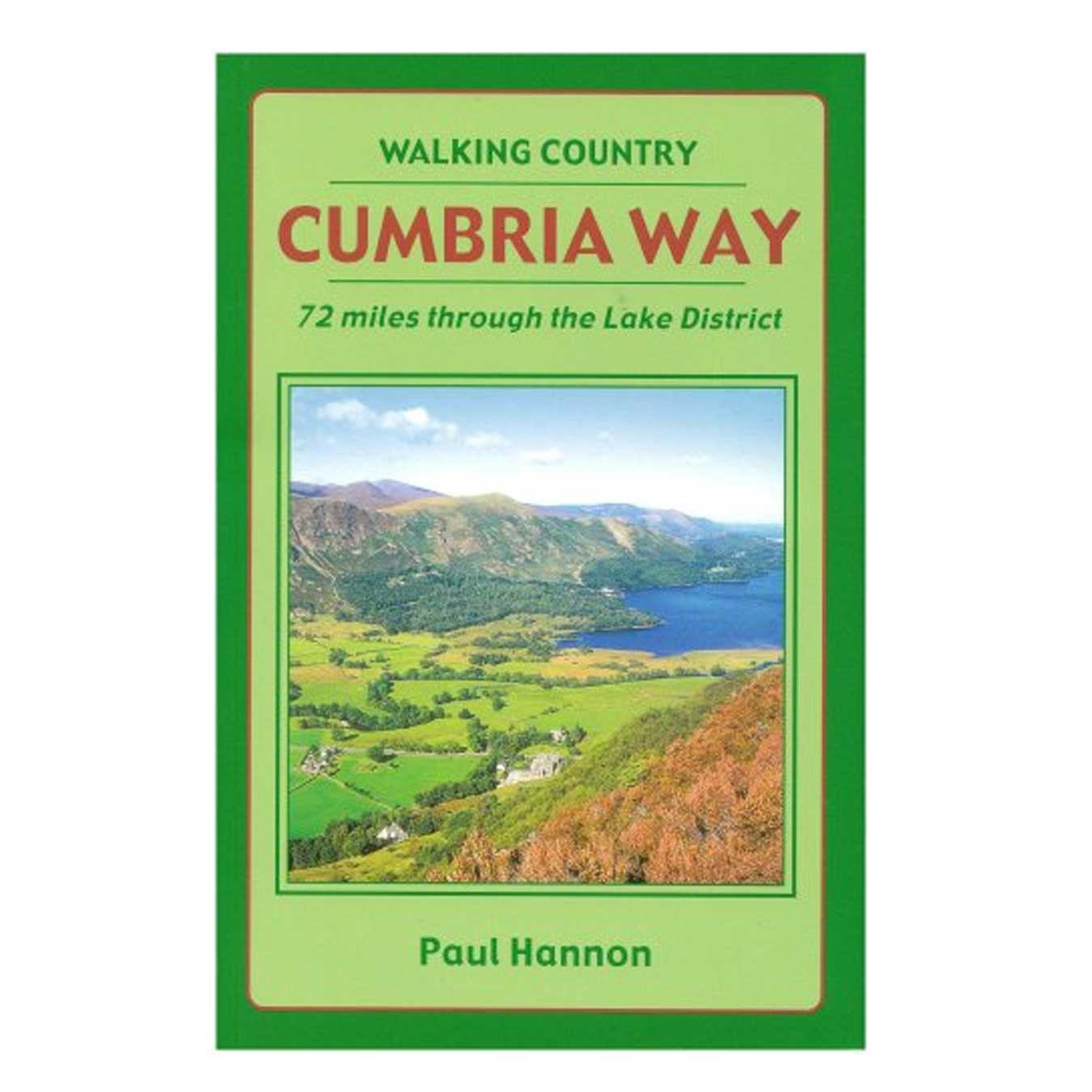 Cumbria Way: 72 Miles Through the Lake District (Walking Country