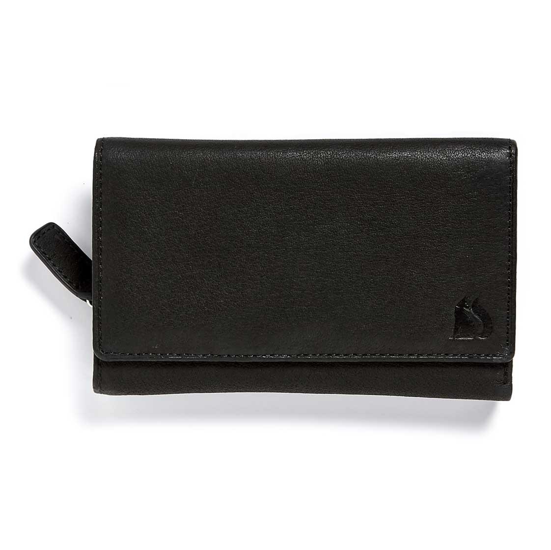 Foxfield Thirlmere Black Leather Purse