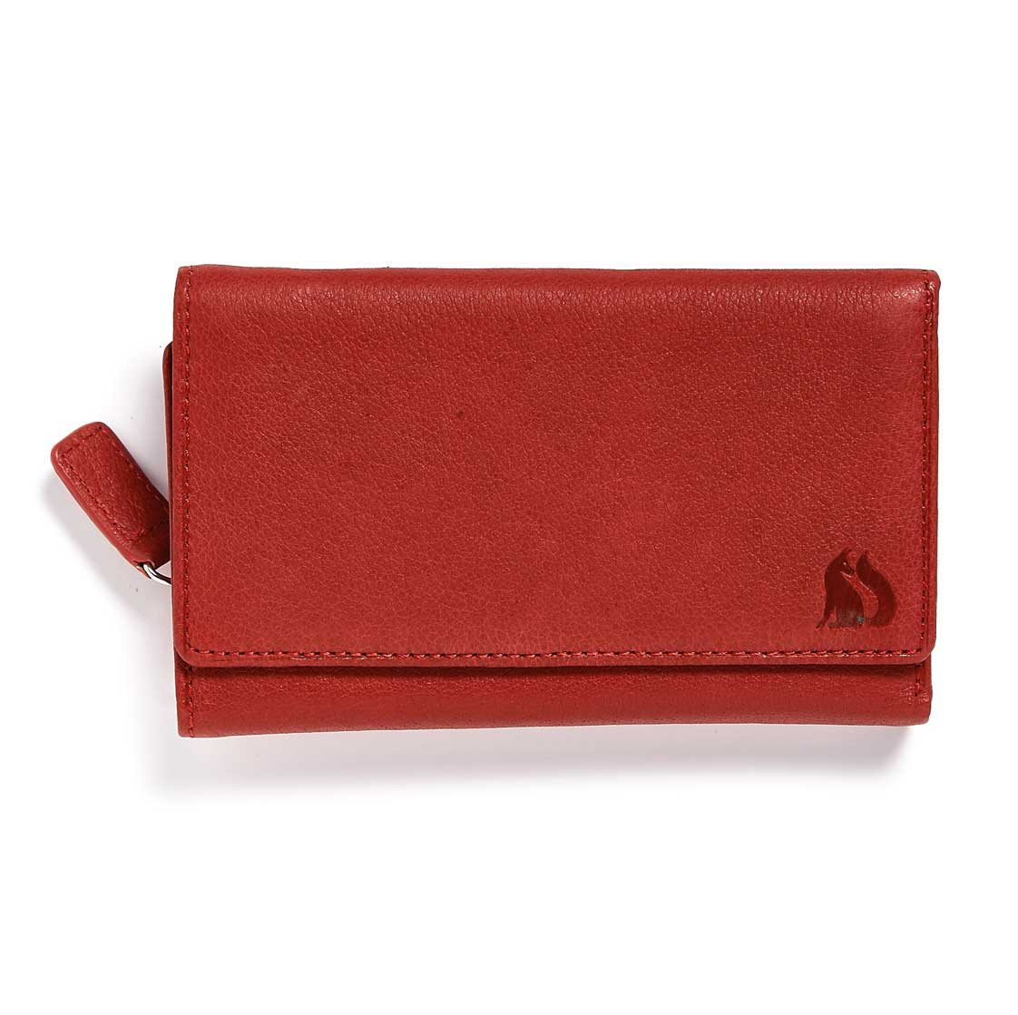 Foxfield Thirlmere Red Leather Purse