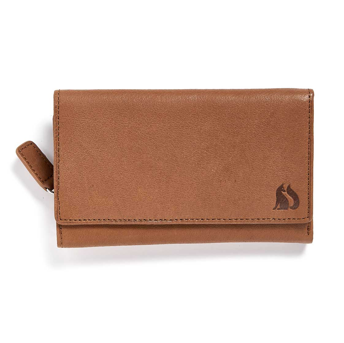Foxfield Thirlmere Tan Leather Purse