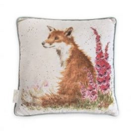 Fox Foxgloves Cushion