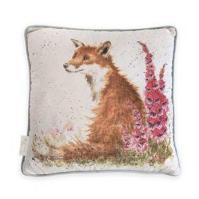 Fox Foxgloves Cushion