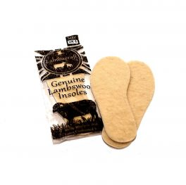 genuine lambswool shoe insoles