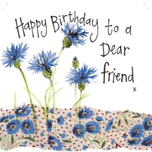 happy birthday to a dear friend