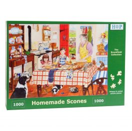 Homemade scones jigsaw puzzle