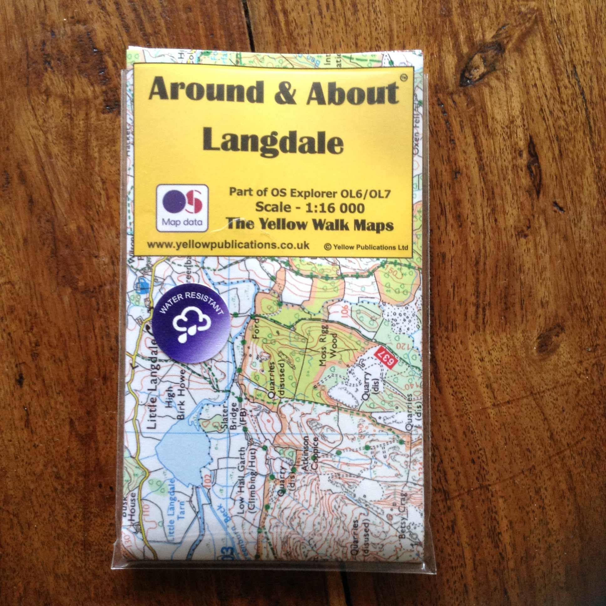 Langdale Map