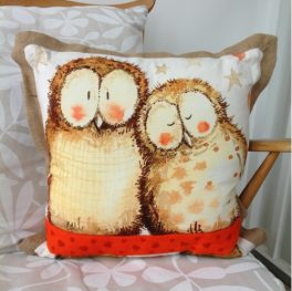 Owls cushion