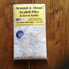 Scafell Pike & Great Gable Map