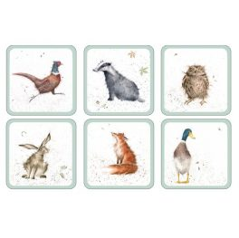 Wrendale Square Coasters