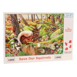Save Our Squirrels Puzzle