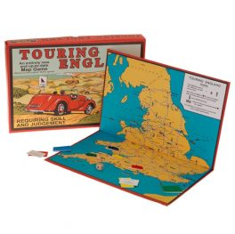 Touring England Board Map Game