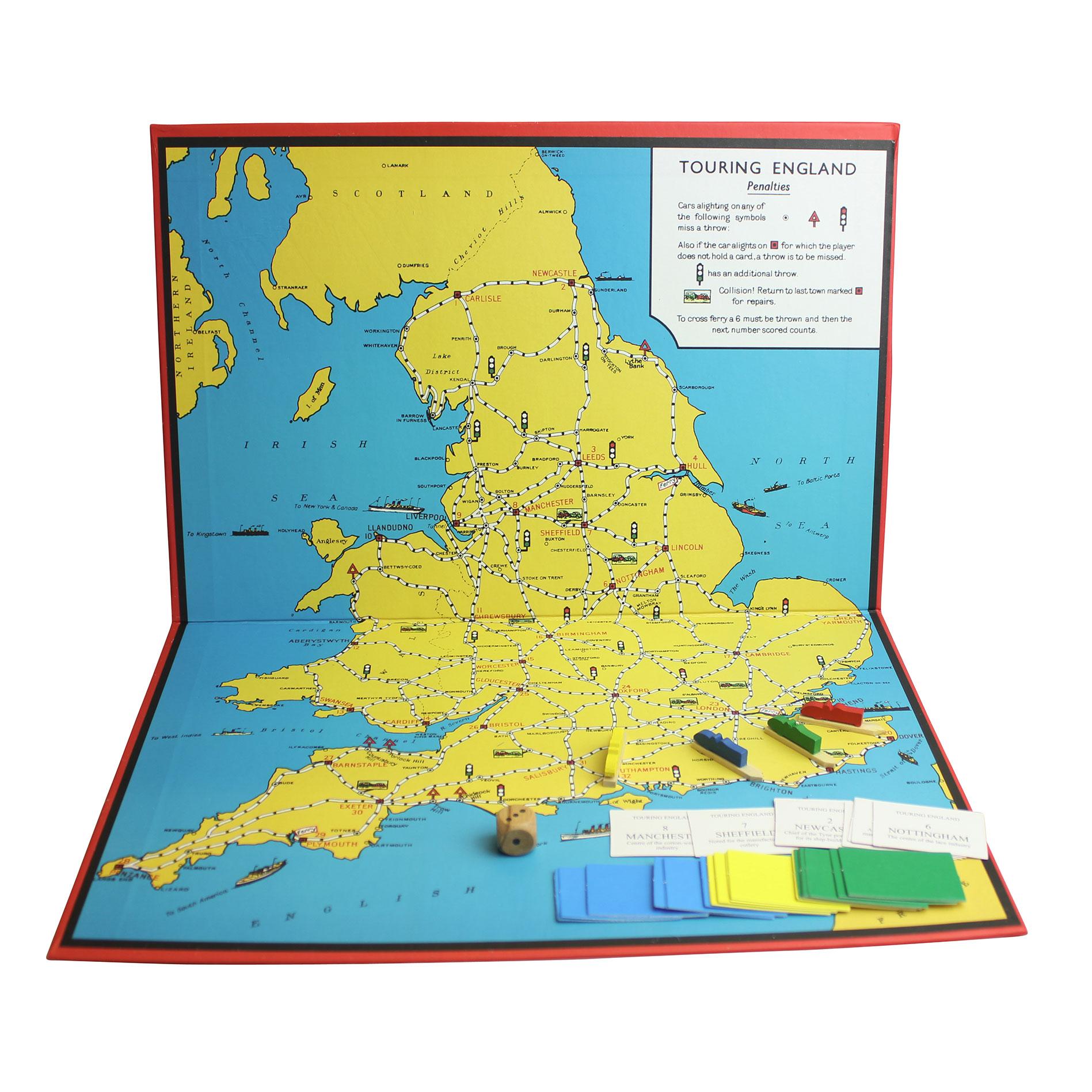 Spielplan England