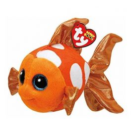 Ty Girls and Womens Beanie Boos Small Sami The Fish Plush Toy