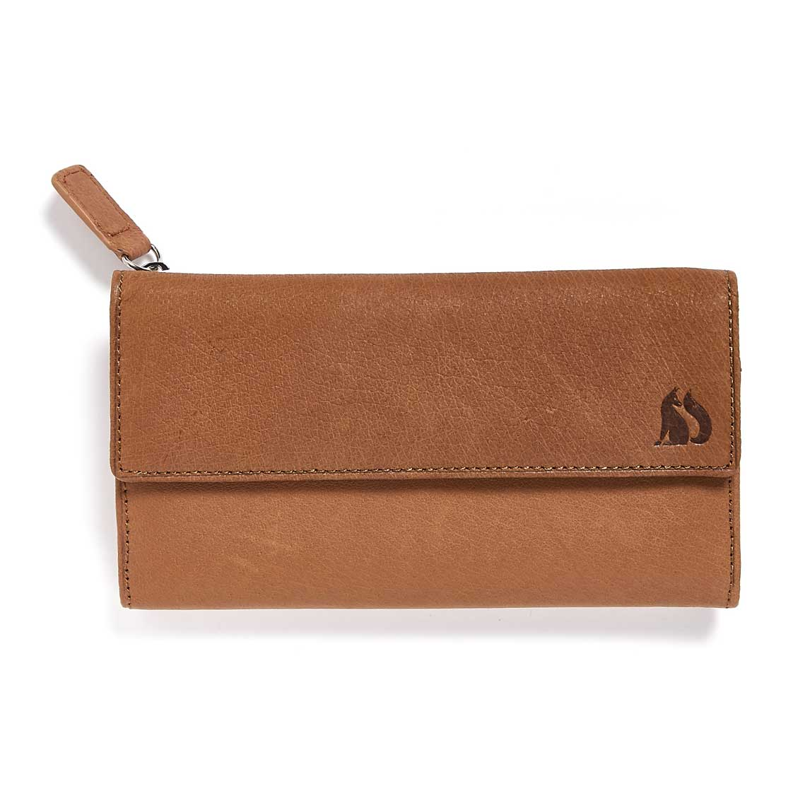 Foxfield Tan Leather Purse Windermere