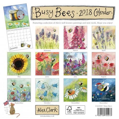 Busy Bees Alex Clark 2020 Calendar: Just For Ewe