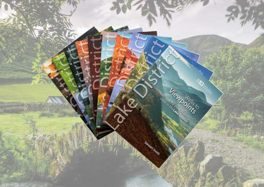 Lake District walking guidebooks