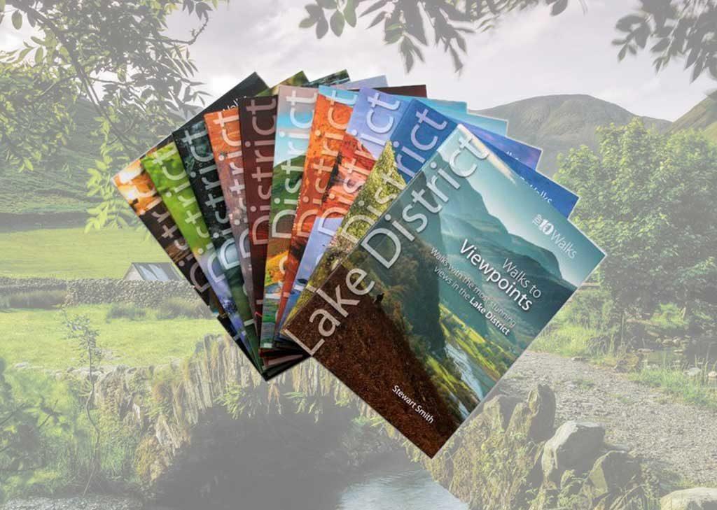 Lake District walking guidebooks