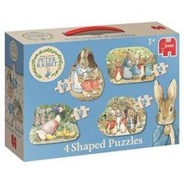 Beatrix Potter Peter Rabbit 4 Classic Shaped Puzzles