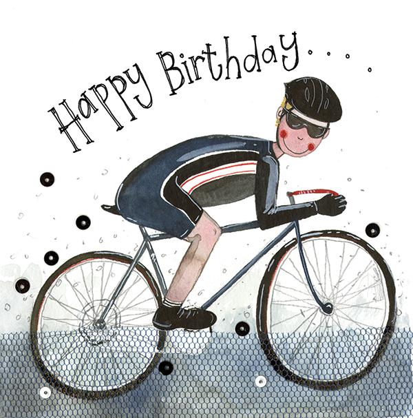 Февраля, открытки с днем рождения велосипеды